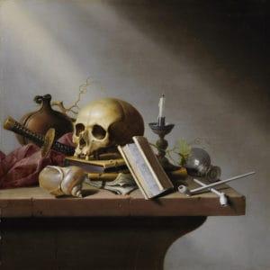 'Vanitas', Harmen Steenwijck