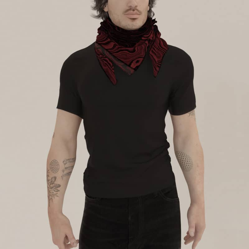 Stella Scarf, Red
