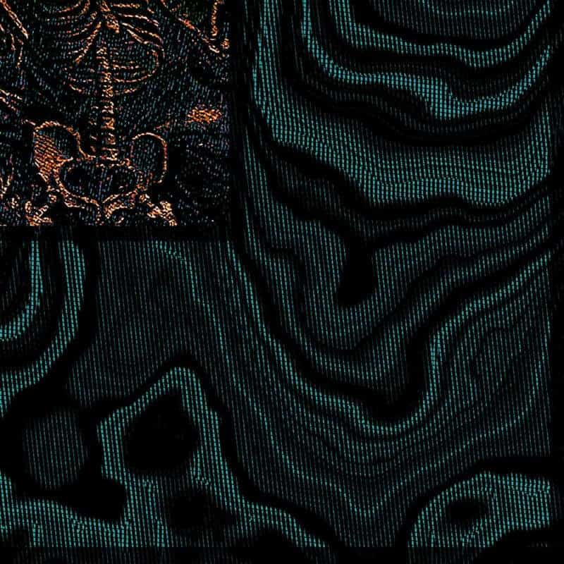 Stella Scarf, Turquoise, Detail